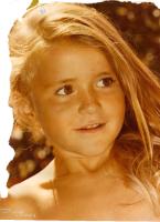 potrait photo d'une petite fille